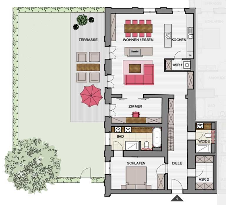 Kulturhaus Zinnowitz - Wohnung-1