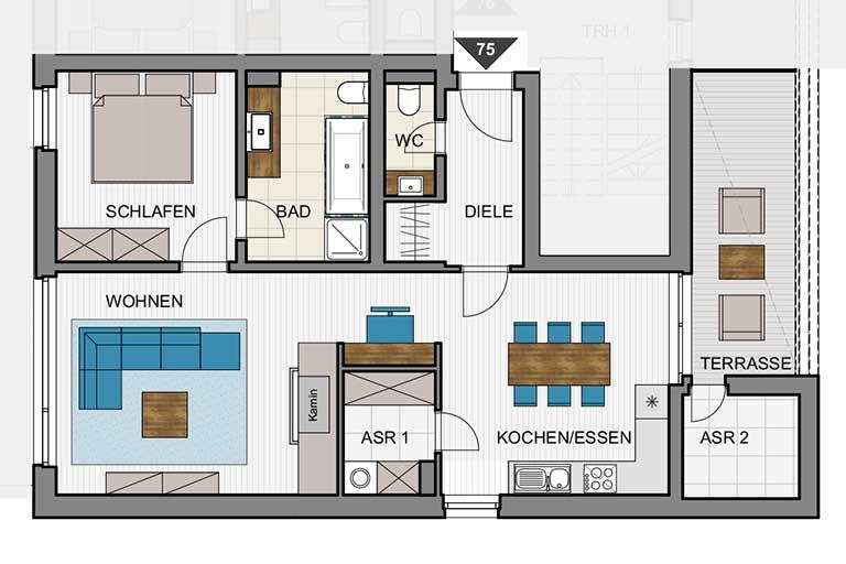 Kulturhaus Zinnowitz - Wohnung-75