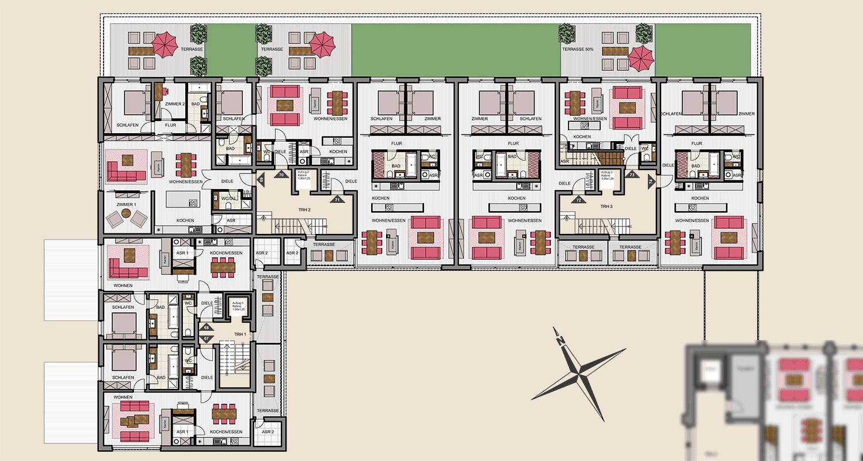 Neubau Nord 1. Obergeschoss