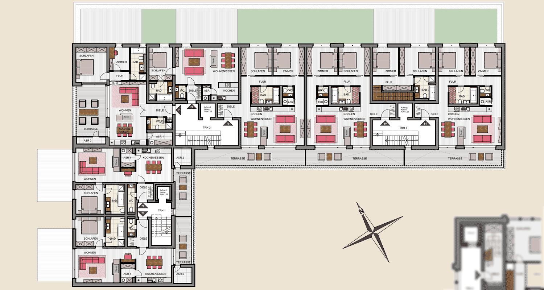 Neubau Nord 2. Obergeschoss