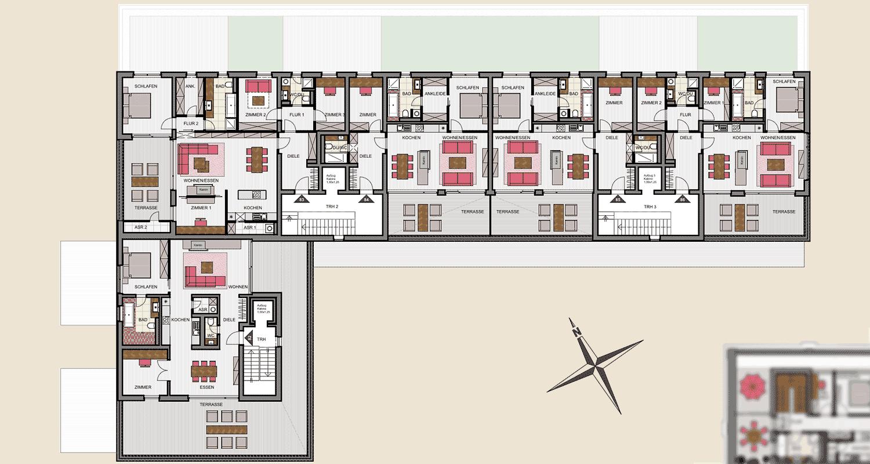 Neubau Nord 3. Obergeschoss