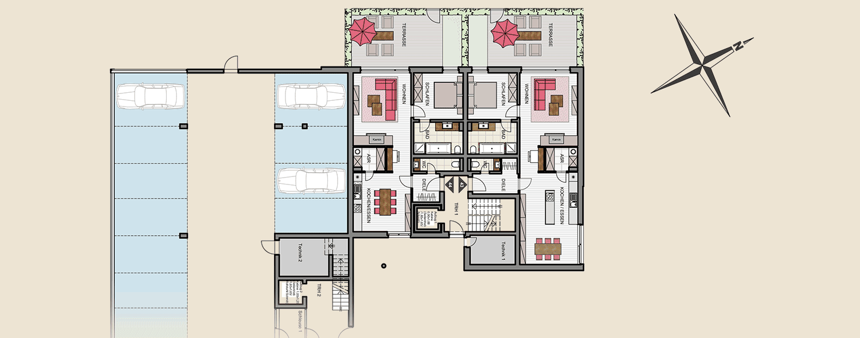 Neubau Süd Sockelgeschoss