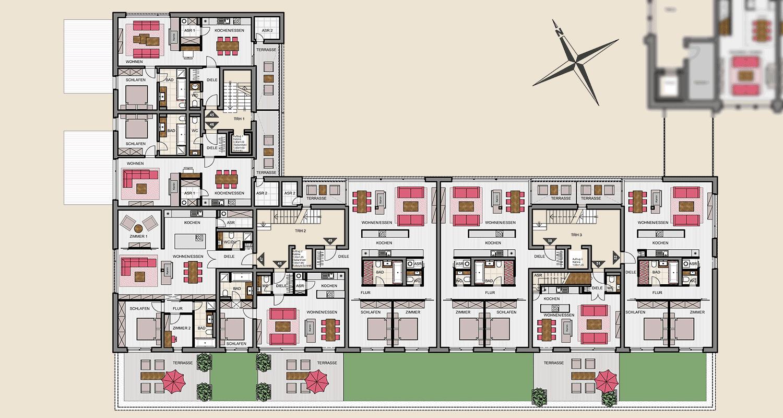 Neubau Süd 1. Obergeschoss