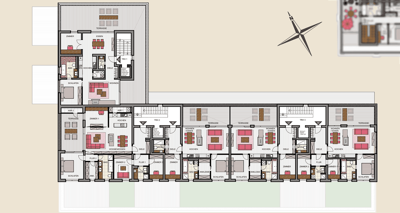 Neubau Süd 3. Obergeschoss
