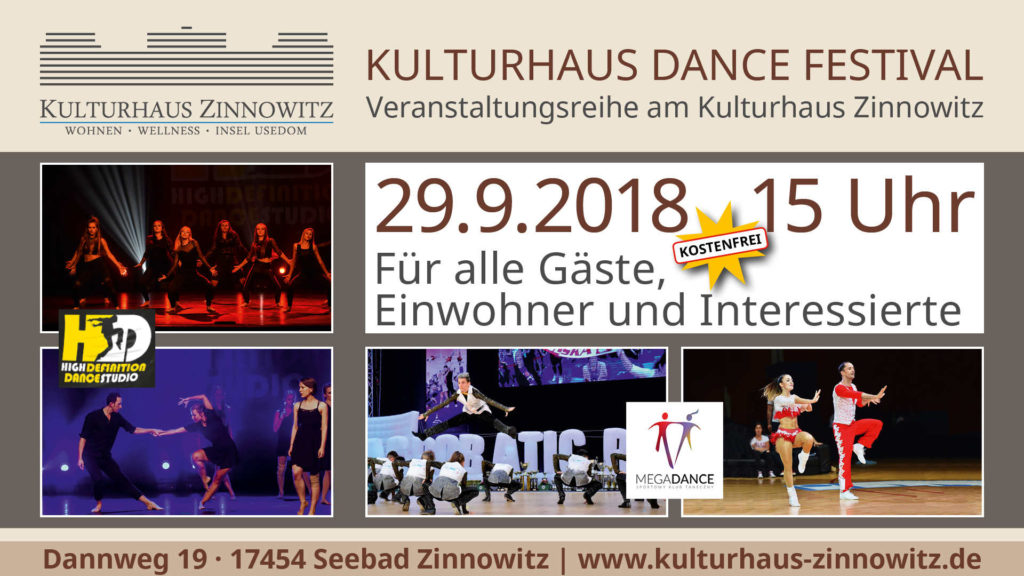 Kulturhaus Dance Festival 2018